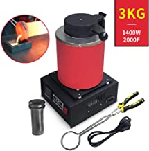 Copper and Aluminum Jewelry Making Tool TMISHION Gold Melting Furnace Casting Refining Precious Metals Gold 110V Silver 1KG//2KG Electric Melting Furnace Gold Silver Copper Smelter