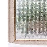 Cheelom Película para Ventana de 45X200 CM. para decoración y la privacidad, estática, 3D, Autoadhesiva para luz UV, Bloqueo de Control de Calor, Pegatinas de Vidrio, no se Necesita Pegamento