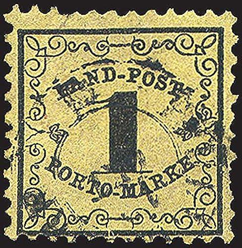 Goldhahn Baden Porto Nr. 1x gestempelt Briefmarken für Sammler