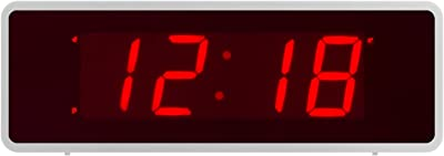 Timegyro Escritorio LED Digital Reloj despertador electrónico con 1.4