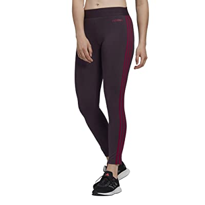 adidas Essential 3-Stripe Tights (Noble Purple/Power Berry) Women