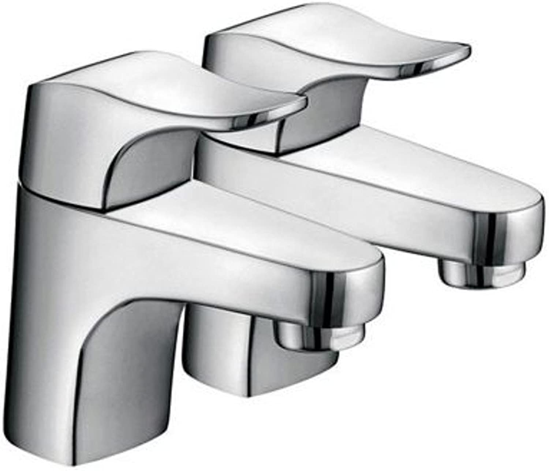 Bristan DE 1 2 C Desire Basin Taps - Chrome