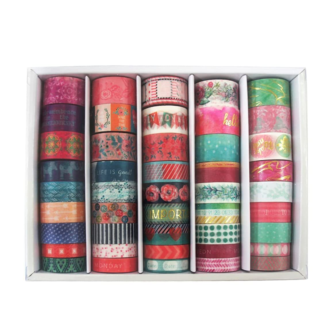 Recollections BOX OF 45 Crafting Tape Washi Tape