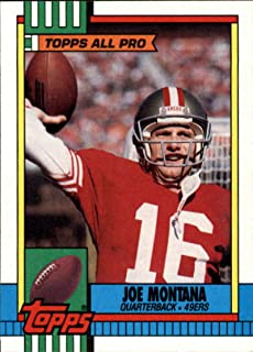 1990 topps joe montana card