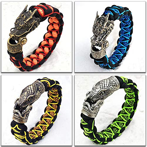 CooB EDC Paracord Survival Outdoor Bracelet with...