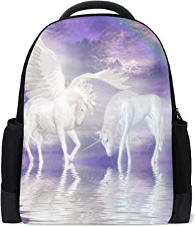 Backpack Amazing Unicorn Personalized Shoulders Bag Classic Lightweight Daypack for Men/Women/Students School