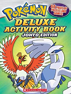 Pokemon: Johto Deluxe Activity Book