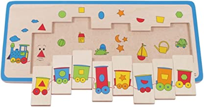 Beleduc Matching Train Jigsaw Puzzle (8 Piece)
