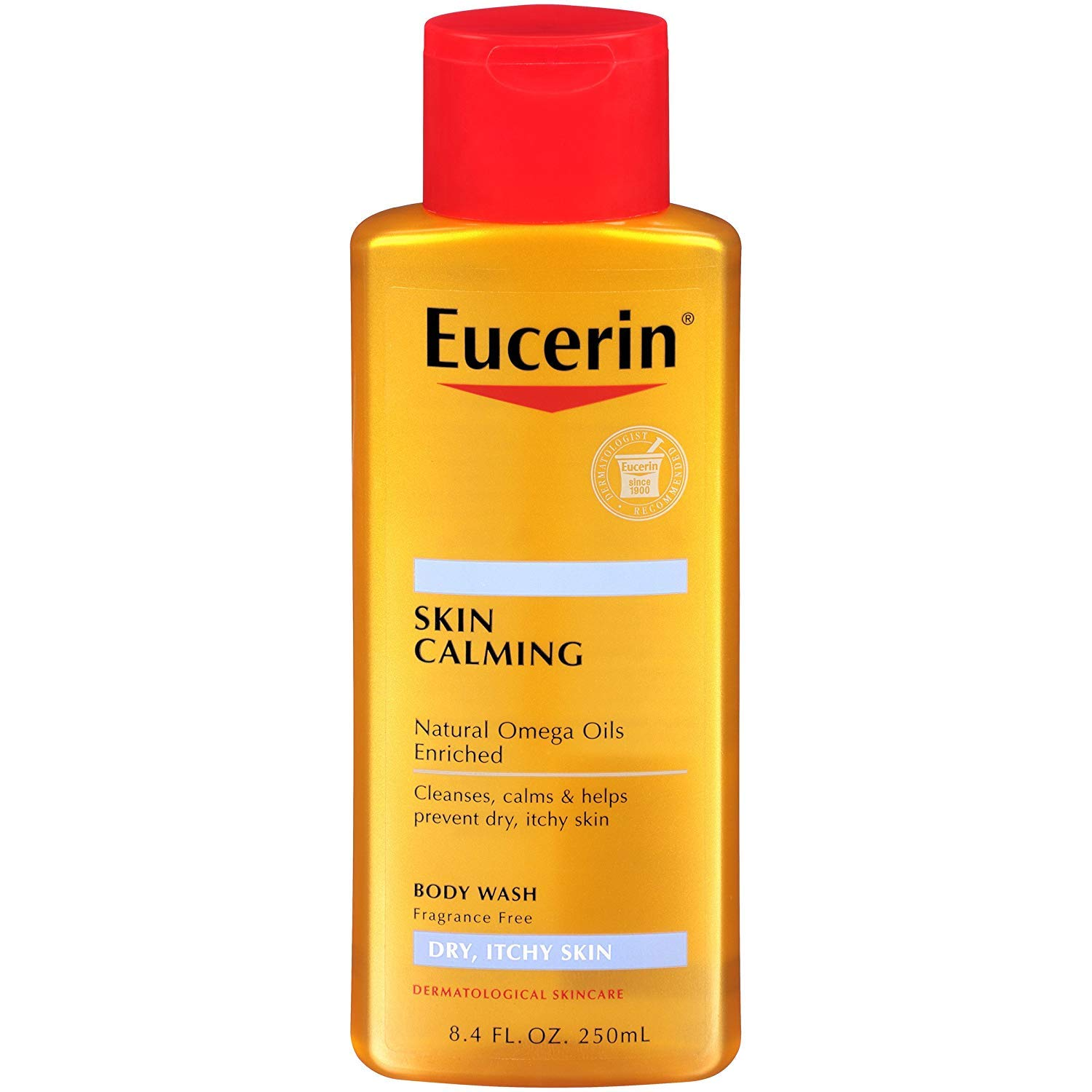 Eucerin Skin Calming Dry Itchy Body 5 8.40 of Pack oz Wash 67% Free shipping / New OFF fixed price