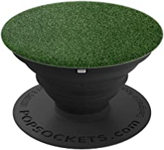 Grass Turf Golf Green Golfer Putting Inexpensive Gift - PopSockets Grip and Stand for Phones and Tablets