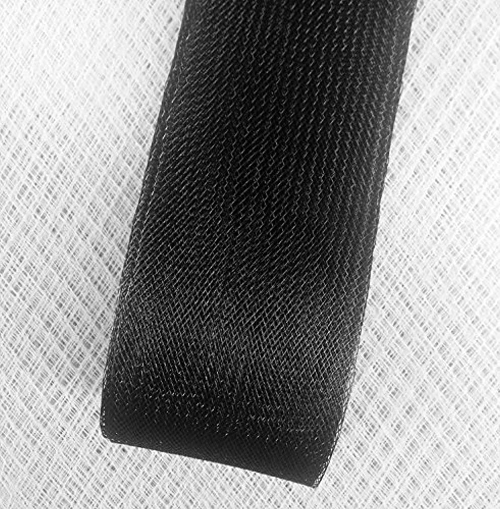 Stiff Polyester Black Horsehair Braid, Selling Per Roll (4
