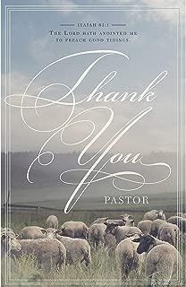 Bulletin - Pastor Appreciation - General Worship -