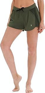 icyzone Workout Shorts for Women - Activewear Exercise Athletic Running Yoga Shorts