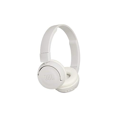 JBL Harman T450BT Casque Audio Supra-Aural Pliable et Léger - Bluetooth - Blanc