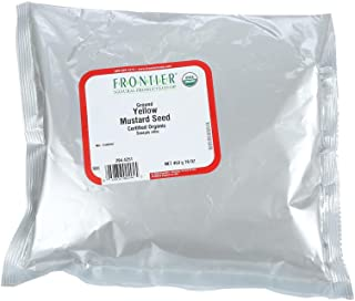 Frontier Co-op Organic Ground Yellow Mustard Seed 1lb