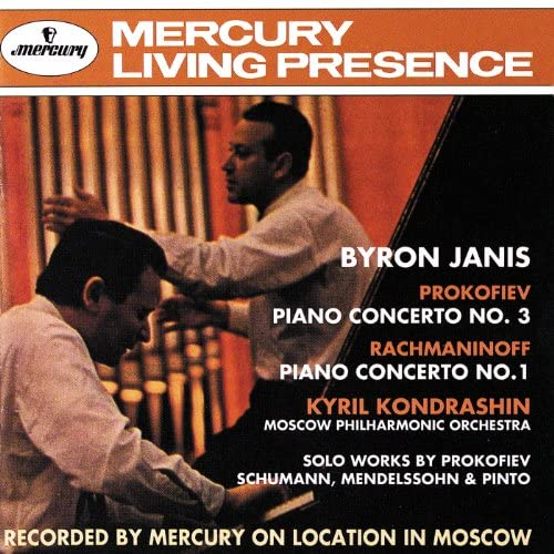 Byron Janis, Moscow Philharmonic Symphony Orchestra & Kirill Kondrashin