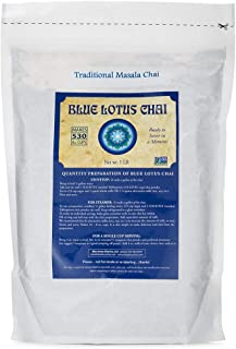 Blue Lotus Chai Traditional Masala Flavor - Bulk 1 Lb Bag (530 Cups)