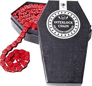 The Shadow Conspiracy Interlock V2 Half Link Chain Red