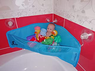 Bath Toys  Kids Toy Bathroom Organizer Mesh Bag Net Holder Baby Shower Storage