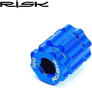 ワンピース 中空歯プレート プラムクランク カバー除去ツール マウンテンロードバイク用, (Color : Blue)
