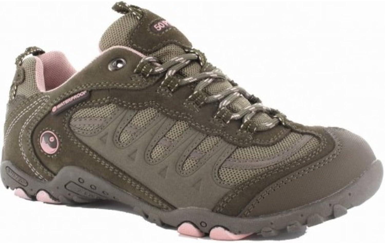 Hi-Tec Lady Lady Lady Penrith Walking Schuh Wandern Stiefel Frauen Schuhe SMK braun Größen 4–7  9dc7ea