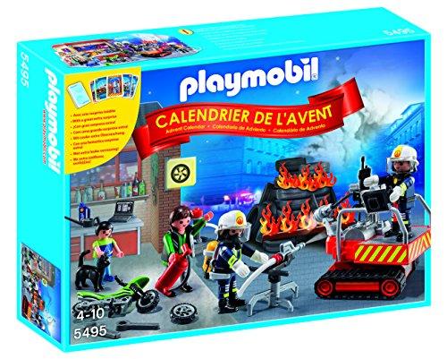 calendrier de l'avent playmobil pompier