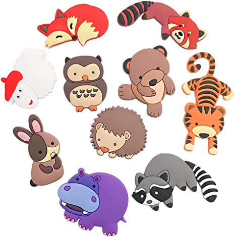 Amazon.com: VLOOK Fridge Magnets Kids Cartoon Zoo Animal Magnetic Toys Toddler Refrigerator Magnets for Whiteboard Baby Magnets: Kitchen & Dining