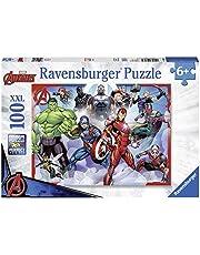 Ravensburger Marvel Avengers - 100 stuk puzzel met extra grote stukken voor kinderen vanaf 6 jaar