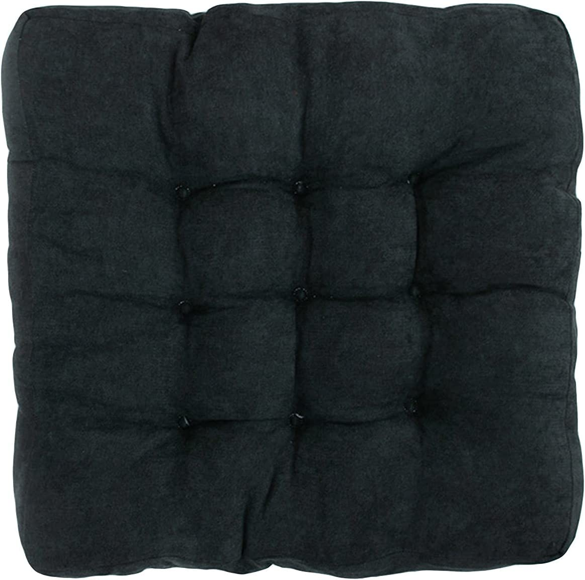 KIJH Max 61% OFF Polyester Blue Chair New arrival Cushion Square Filling Seat Pads