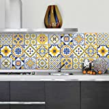 72 (Piezas) Adhesivo para Azulejos 10x10 cm - PS00110 - Bilbao - Adhesivo Decorativo...