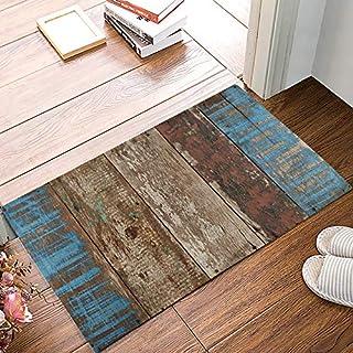 """FAMILYDECOR Entrance Door Mat Rug Indoor/Outdoor/Front Door/Shower Bathroom Doormat, Non-Slip Shoe Scraper Carpet 20"""" X 3..."""