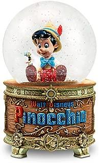 Disney Pinocchio and Jiminy Cricket Snowglobe