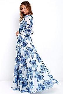 c309e5c6f38c K-youth® Vestido para Mujer, Vestidos De Fiesta Mujer Largos Elegantes  Atractivo Cuello