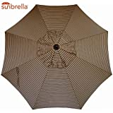 Bayside21 Umbrella Canopy Replacement 8 Ribs 9 ft Outdoor Patio Umbrella Sunbrella Replacement...
