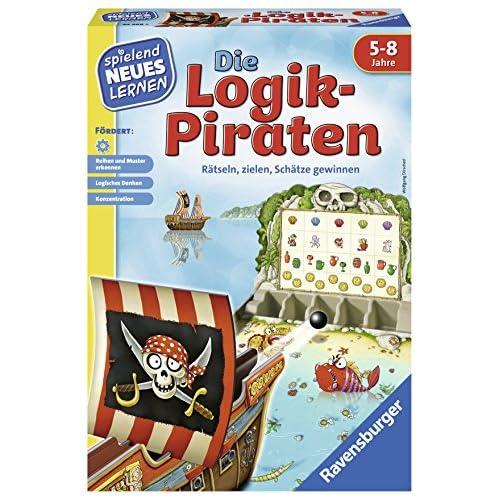 Ravensburger, Gioco educativo dei Pirati della logica, 24969 [Edizione in Lingua Tedesca]