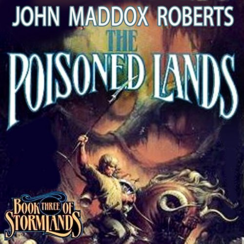 The Poisoned Lands audiobook cover art