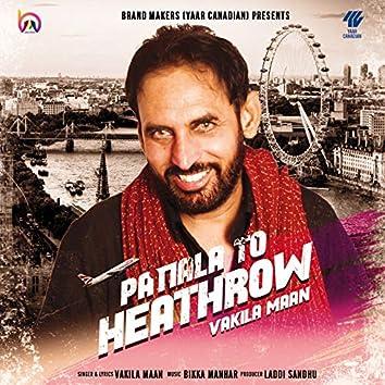 Patiala to Heathrow