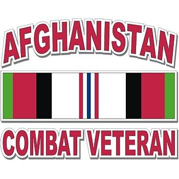 Operation Iraqi Freedom Veteran With Ribbon Clear Decal Mitchell Proffitt /並/行/輸/入/品