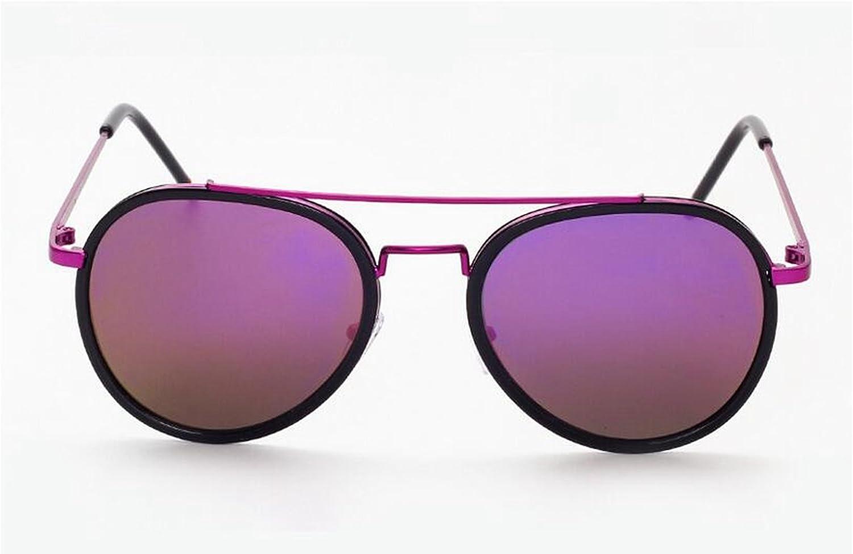Sucastle,Big box, tide, sunglasses, bright, big, sunglasses, men, ladies, street beat, glasses,metal,