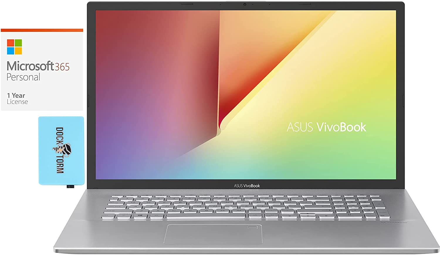 ASUS VivoBook S17 S712 Home Business AMD Ryzen Year-end gift Laptop 5 In a popularity 5500U