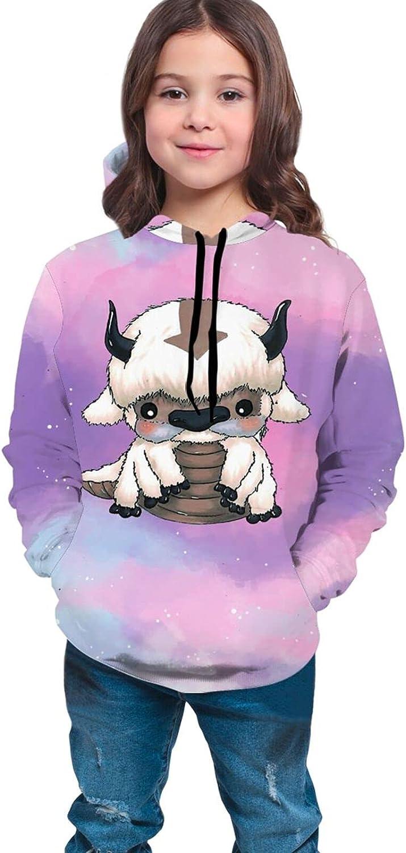 Teen Kids Hooded Pullover Appa - Avatar The Last Airbender Hoodie Sweatshirt Coat Sweater for Boys Girls