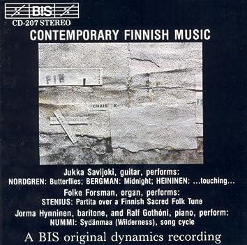 Contemporary Finnish Music