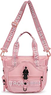George Gina & Lucy Nylon Roots MIss Mini Piece Handbag Rose O'Clock