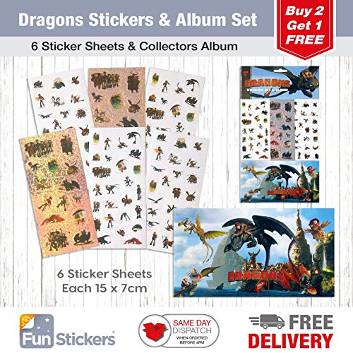 Dragons Sticker & Album Set
