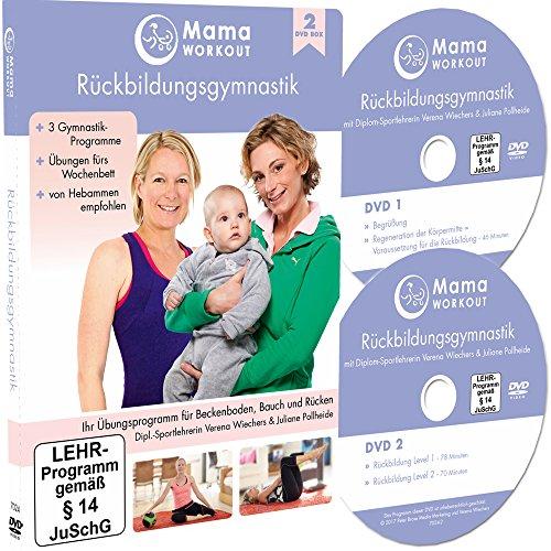 MamaWORKOUT - Rückbildungsgymnastik (2 DVDs) ++ Das Standardwerk von Expertin Verena Wiechers, Leiterin der Akademie für Prä- & Postnatales Training