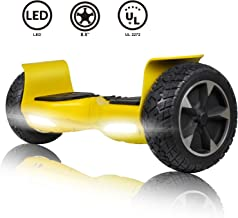 CBD Off Road Hover Board, All Terrain Hoverboard with Bluetooth for Kids, 8.5 Inch Two-Wheel Self Balancing Hoverboard, Two-Wheel Electric Scooter for Adults