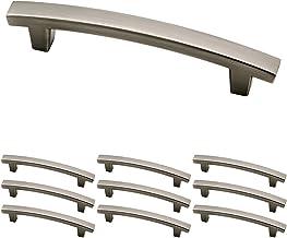 Franklin Brass Puxador prateado Heirloom para armários de cozinha e gavetas de cômodas, 10 polegadas, pacote com 10, P2961...