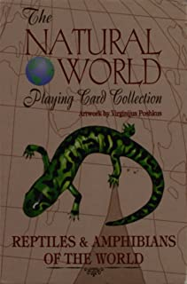 The Natural World Playing Card Collection: les & Amphibians of the World