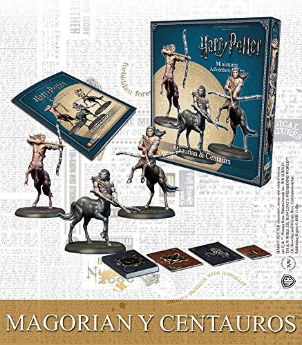 Knight Models Gioco da tavolo – Miniature resina Harry Potter bambole Mini Adventure – Magorian & Centaurs Spanish