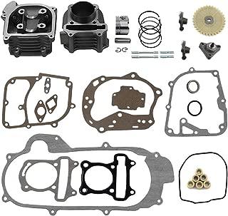 NewYall Top End Cylinder head Gasket Kit for 2004-2009 Kawasaki KFX700 V-Force 700 2004-2005 Suzuki Twin Peaks 700